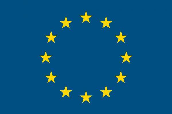 EUの旗の壁紙/画像素材