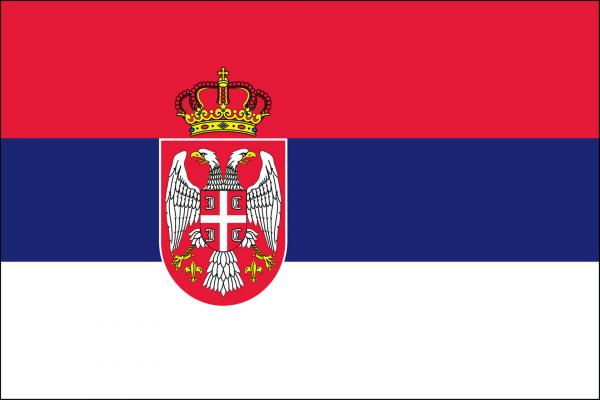 セルビア共和国の国旗の壁紙/画像素材