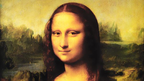 モナ・リザ2(Mona Lisa):レオナルド・ダ・ヴィンチの壁紙/画像素材