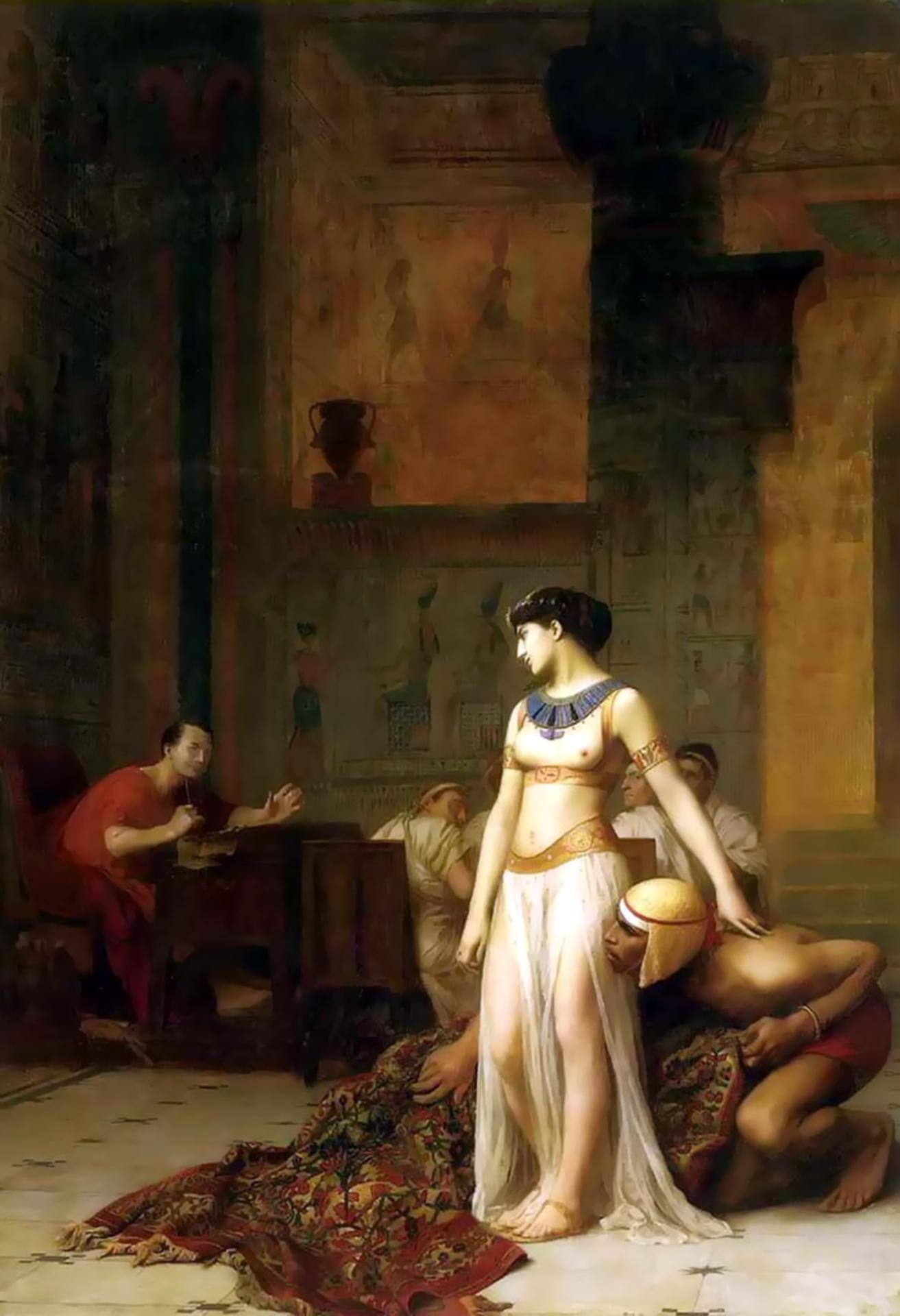 ウィキペディア で クレオパトラ を 開く